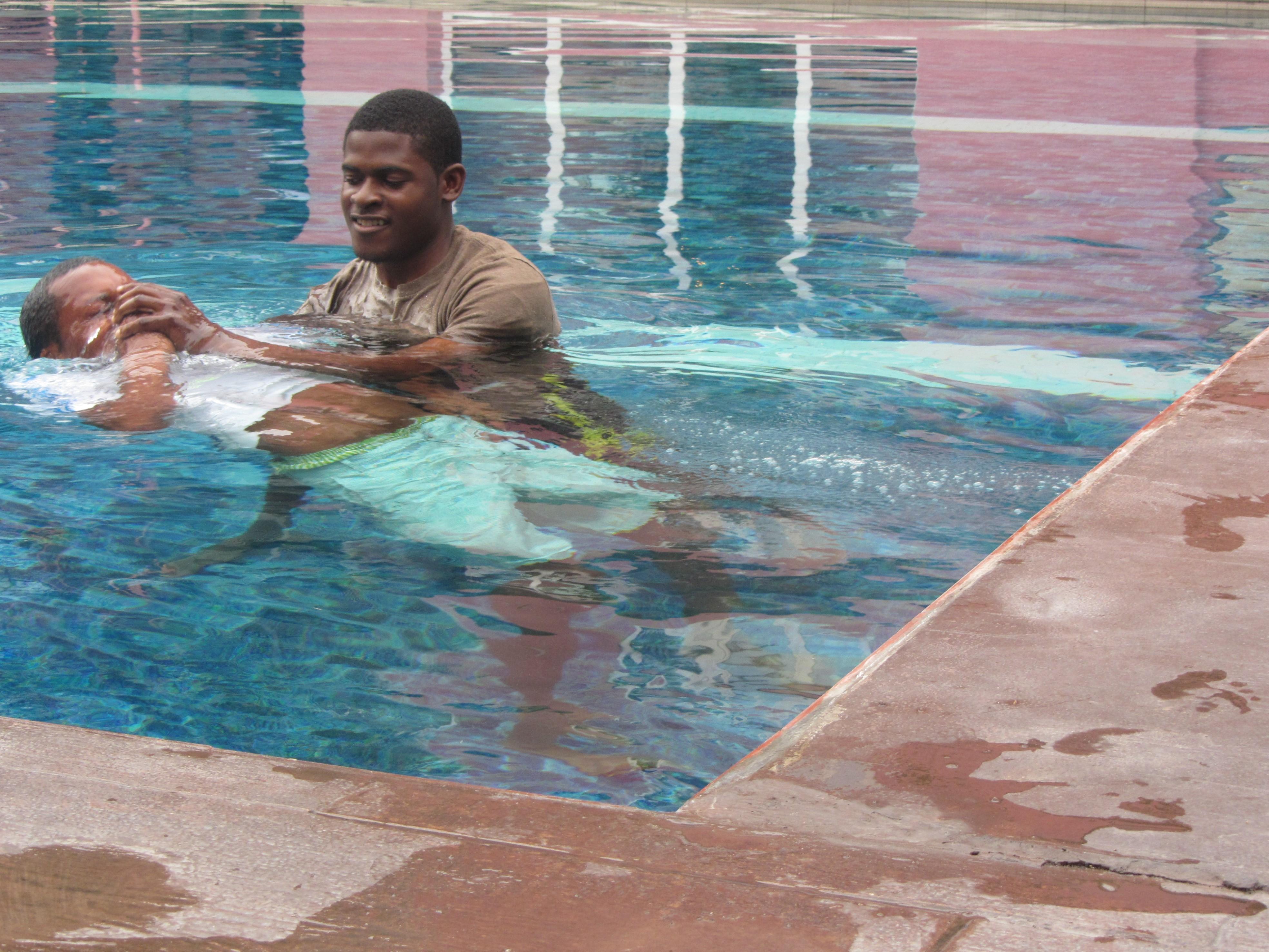 Fumbi Baptized