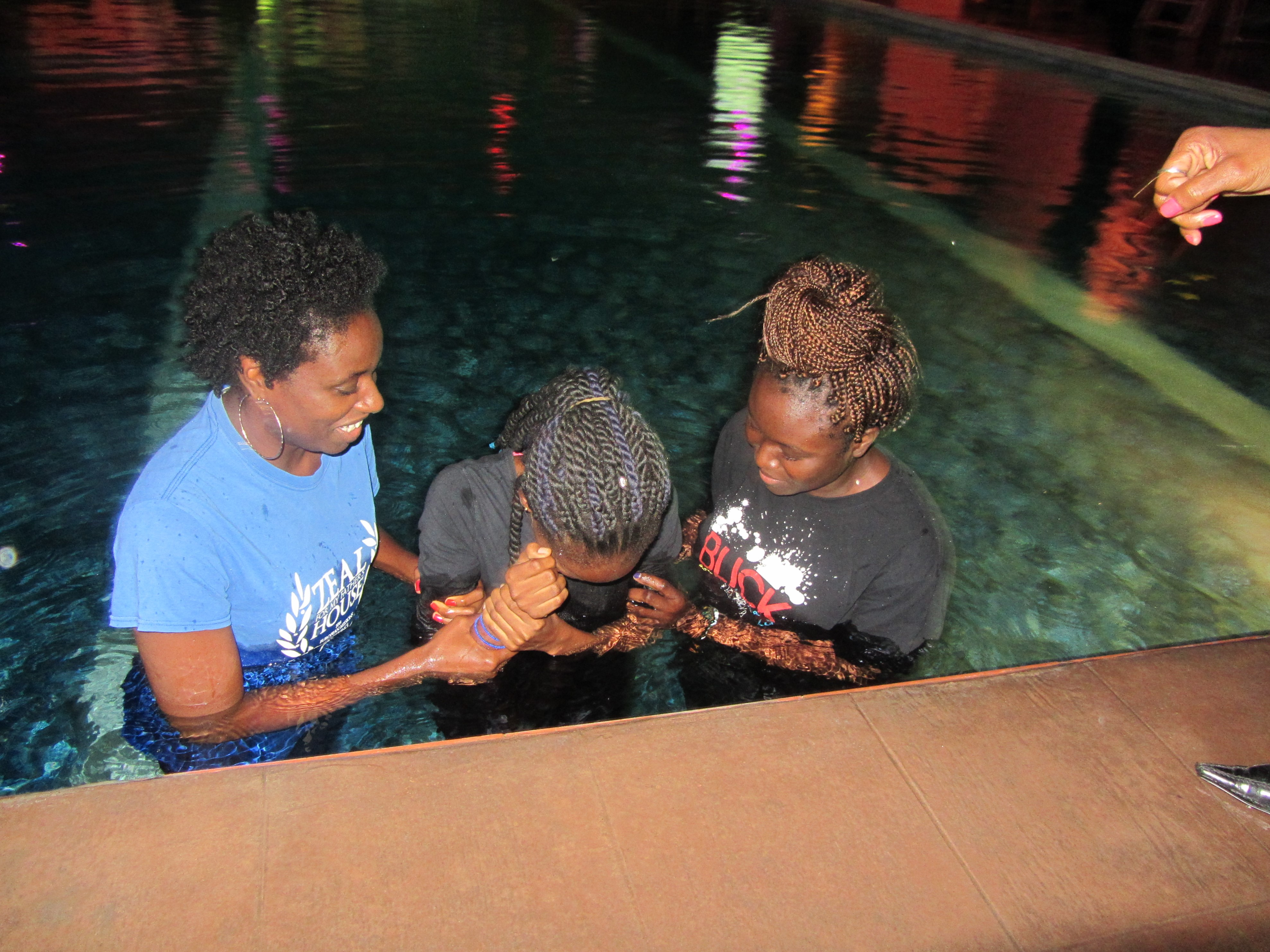 Sisters to Baptize