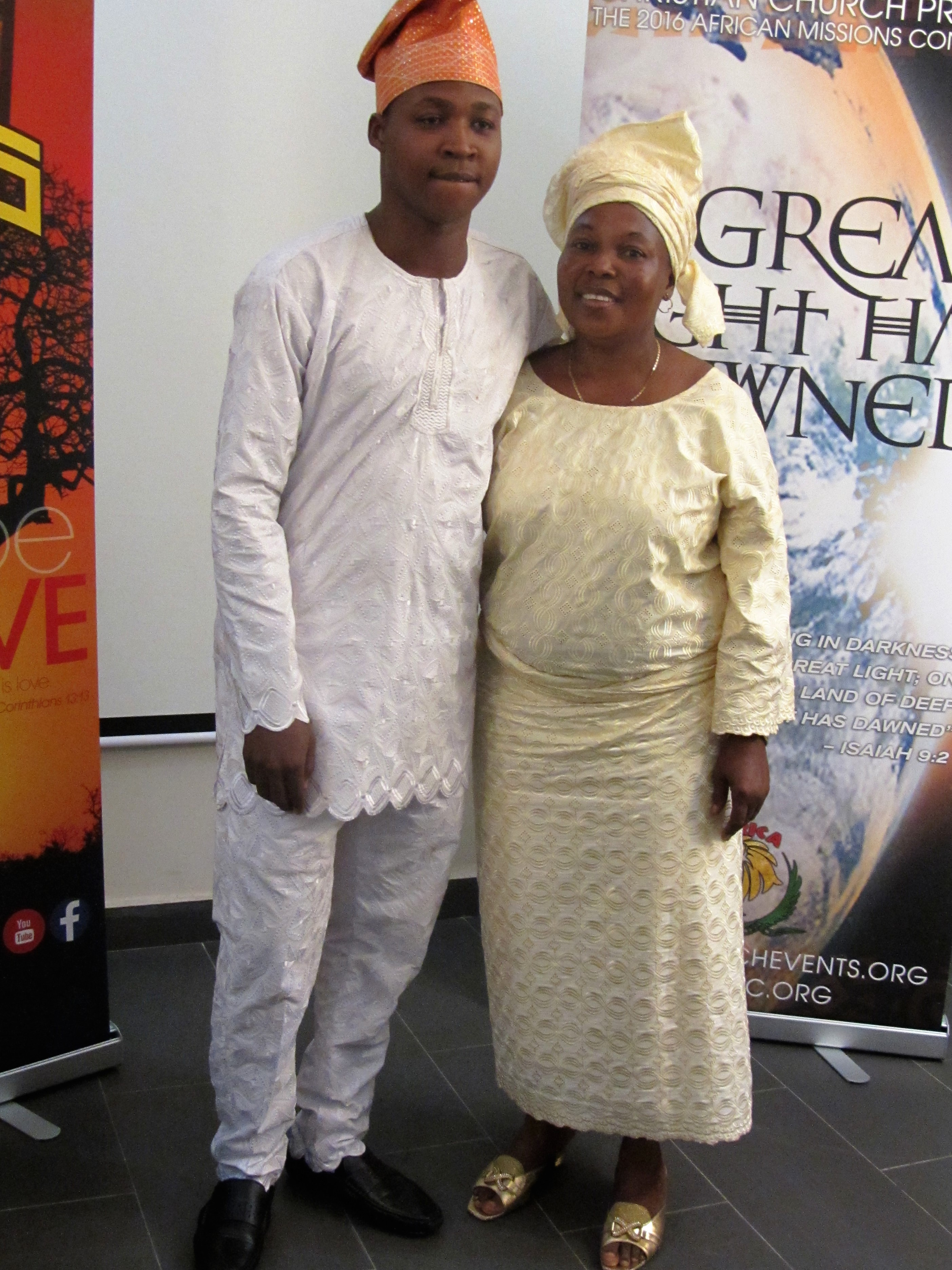 Tope and Mama