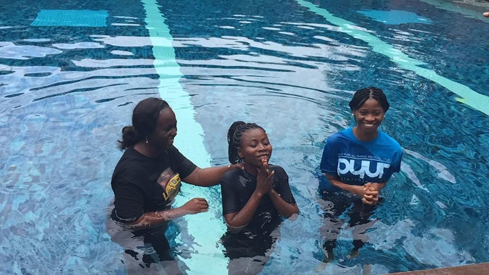 shola-baptized